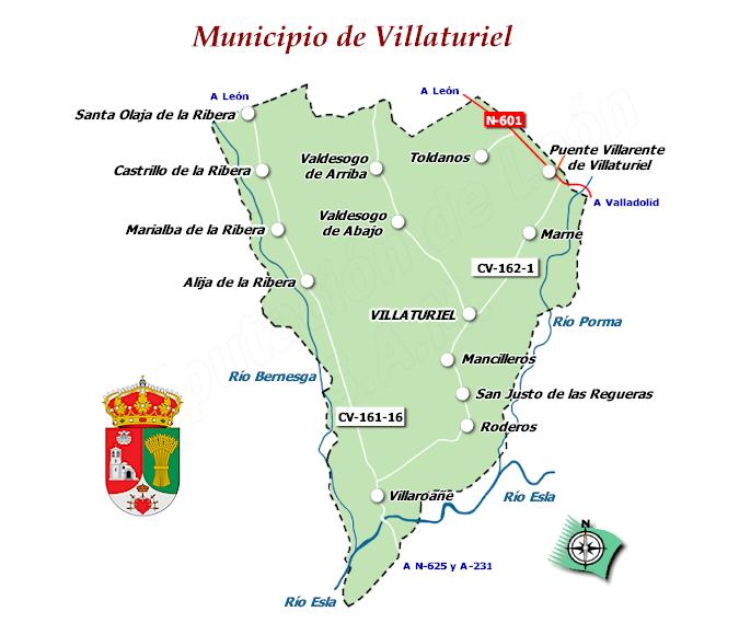 plano Municipio Villaturiel